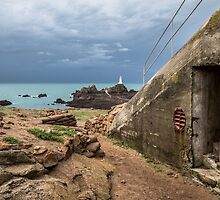 Machine Gun Bunker, Corbiere by tracesofwar