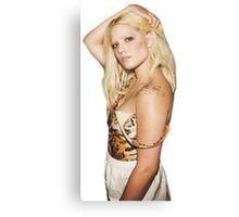 Halsey Bleached Eyebrows Canvas Print