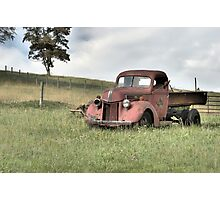 Abandoned but not forgotten Photographic Print
