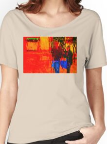 COLORS OF TUSCANY (CARD) Women's Relaxed Fit T-Shirt