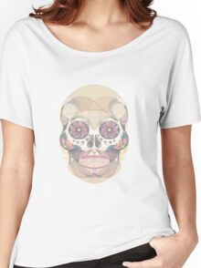 Skull - circular Women's Relaxed Fit T-Shirt