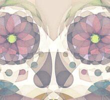 Skull - circular Sticker