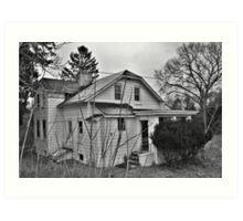Amityville Horror house Art Print