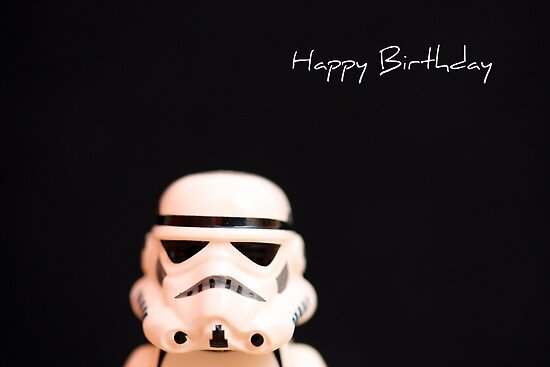 Trooper birthday card by Emma Harckham