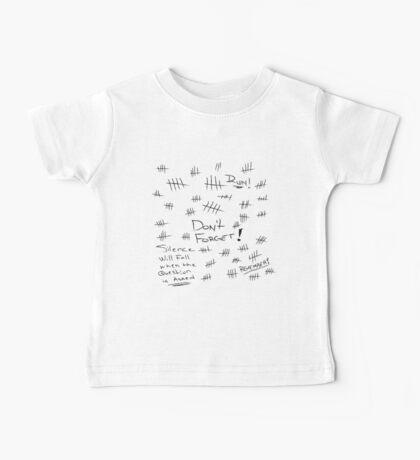 Silence - Black Marker Baby Tee