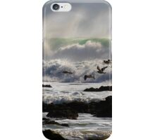 Oystercatchers , Freshwater West,Pembrokeshire iPhone Case/Skin