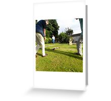 The Garden Viewing Greeting Card