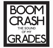 Boom Crash print One Piece - Short Sleeve