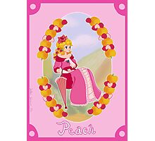 Victorian Princess Peach Photographic Print