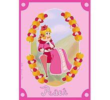 Victorian Princess Peach Photographic Print