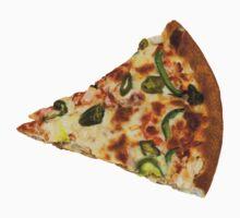 Spicy Pizza Slice Kids Tee