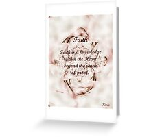 Faith Greeting Card