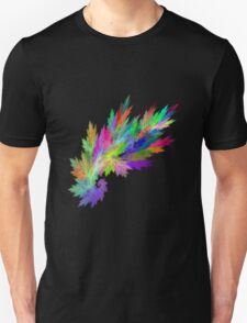 coloured flame T-Shirt