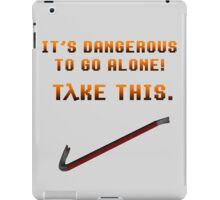 Half life Crowbar iPad Case/Skin