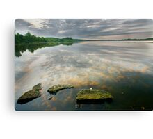 Cloud Reflections Canvas Print
