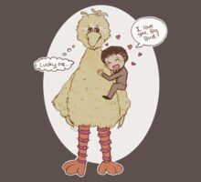 Romney Loves BigBird by Katie Evans