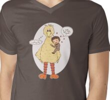 Romney Loves BigBird Mens V-Neck T-Shirt
