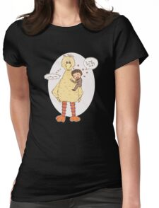 Romney Loves BigBird Womens Fitted T-Shirt