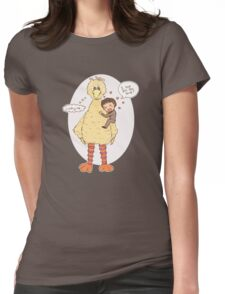 Romney Loves BigBird Womens Fitted T-Shirt