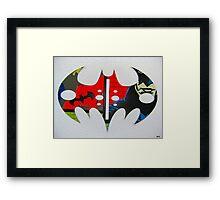 The Batman signal 3 Framed Print