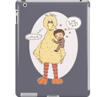 Romney Loves BigBird iPad Case/Skin