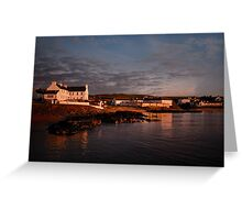 Islay: Port Charlotte Dawn Greeting Card