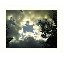 more july storms #1 Art Print
