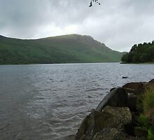 Storm Looming over Ennerdale Water. July 2009. by Phil Mitchell