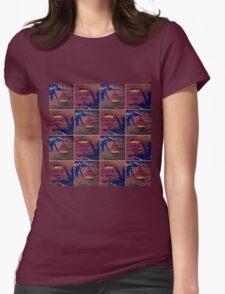 Tranquil 5 Womens Fitted T-Shirt