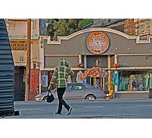 los angeles street scene Photographic Print