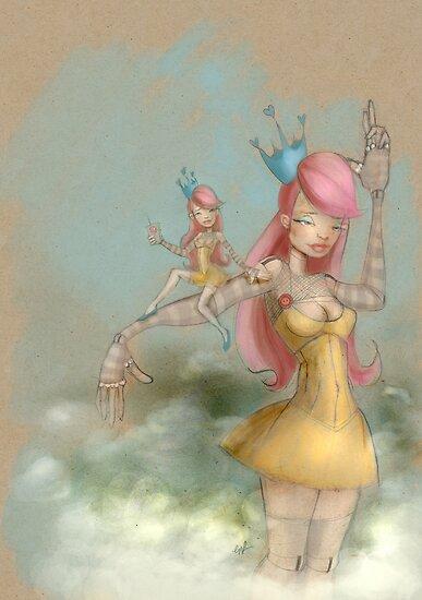 remote control robo dolly and lolita by Erica Rosario