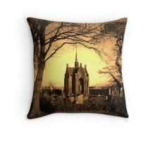 Little Cemetery  Throw Pillow