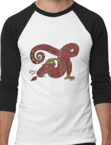 Red Dragon No. 10 Tee Men's Baseball ¾ T-Shirt