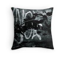 Night Writings Throw Pillow