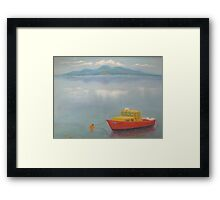 Dundrum Bay and the Mountains of Mourne Framed Print