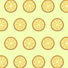 Oranges Pattern by 4ogo Design