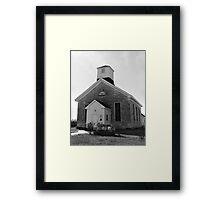 Beecher Bible and Rifle Church Framed Print