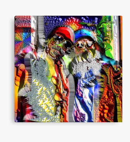 2 KEWL KATZ Canvas Print