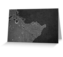 Satellite over Hyundai 2000 Greeting Card