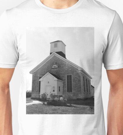 Beecher Bible and Rifle Church Unisex T-Shirt