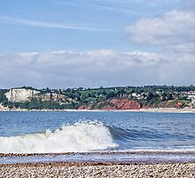 Seaton Seafront - Devon by Susie Peek