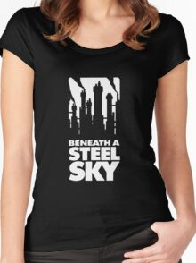 Beneath A Steel Sky Women's Fitted Scoop T-Shirt