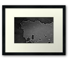 Satellite over Hyundai 2000 Framed Print