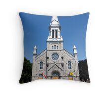 St. Columban's Parish Church, Cornwall, Ontario. 1899. Throw Pillow