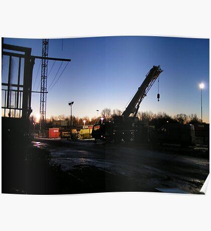 Demolition area 1 Poster
