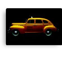 Taxi #2 ... Canvas Print