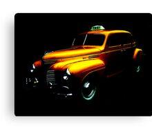 Taxi ... Canvas Print