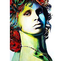"""Jim Morrison"" Photographic Print"