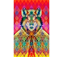 Corporate Wolf Photographic Print
