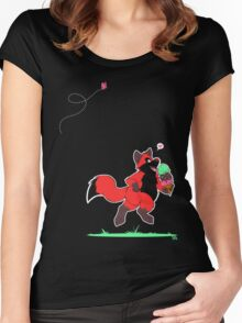 The Power of Ice Cream Women's Fitted Scoop T-Shirt